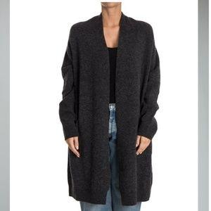 Zucca Oversized Wool Open Front Sweater Cardigan M